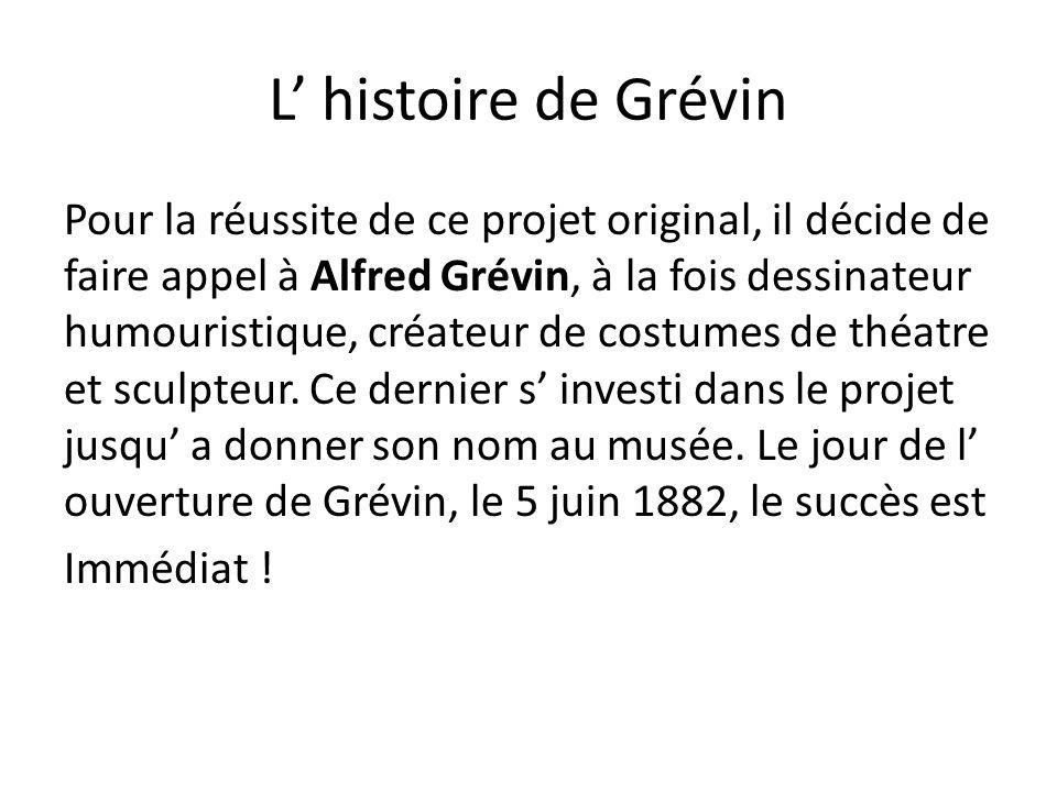 L' histoire de Grévin