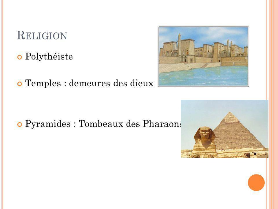 Religion Polythéiste Temples : demeures des dieux