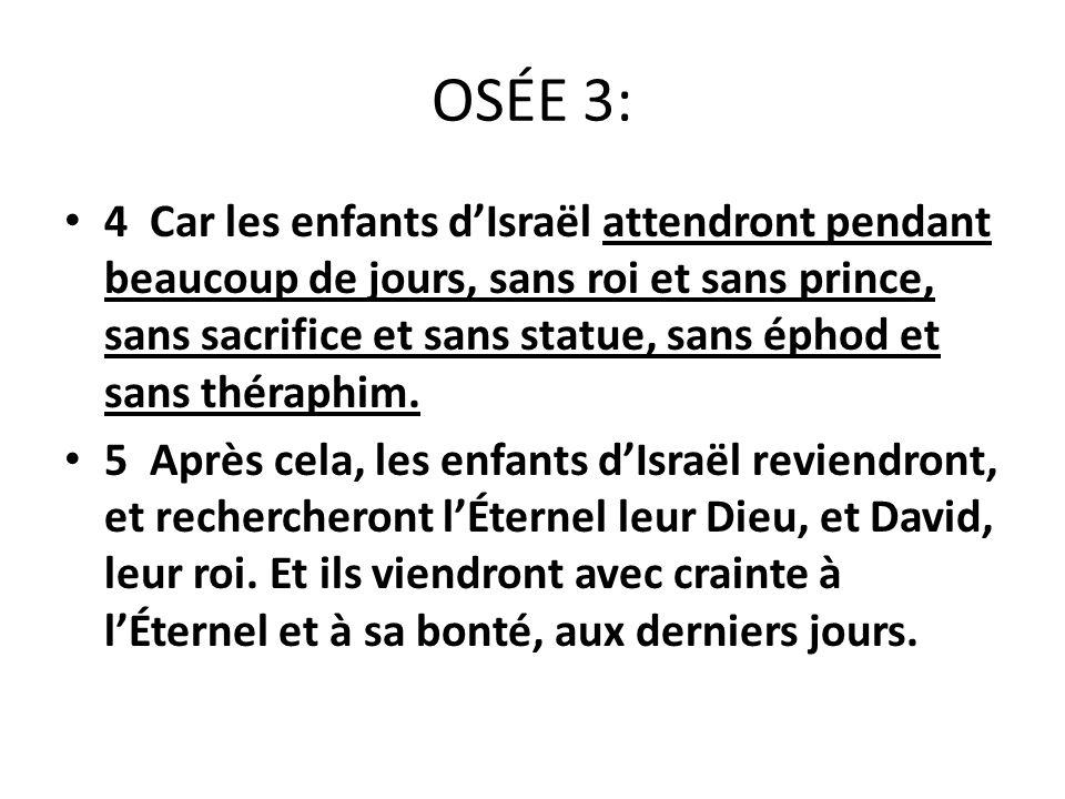 OSÉE 3: