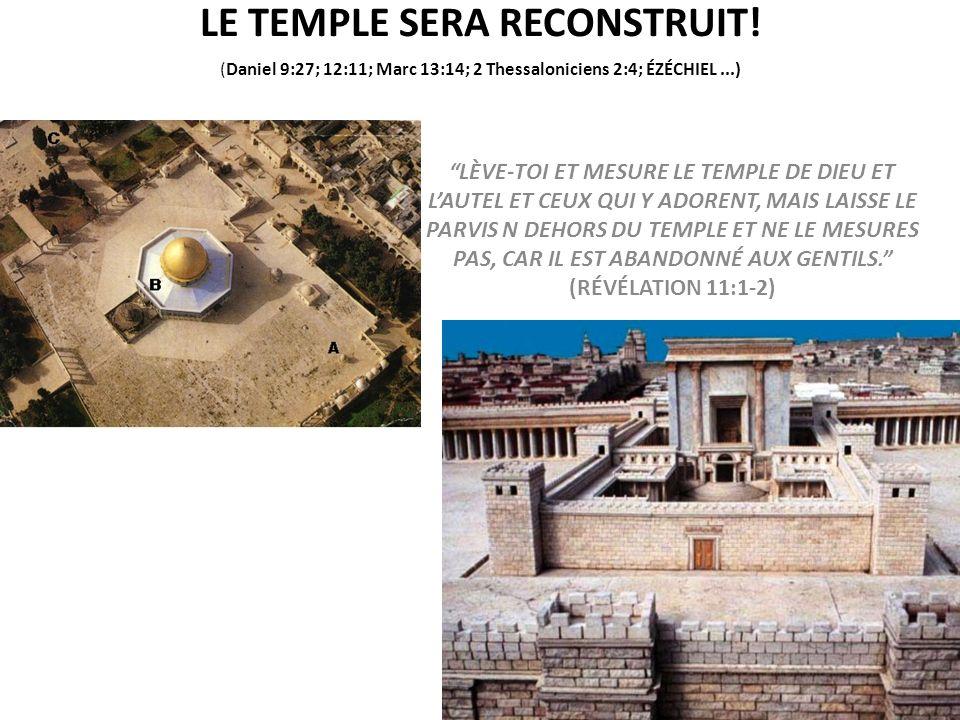 LE TEMPLE SERA RECONSTRUIT