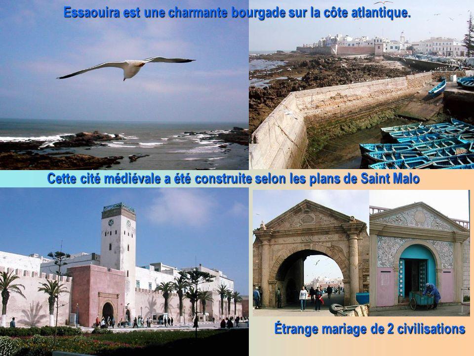 Essaouira est une charmante bourgade sur la côte atlantique.
