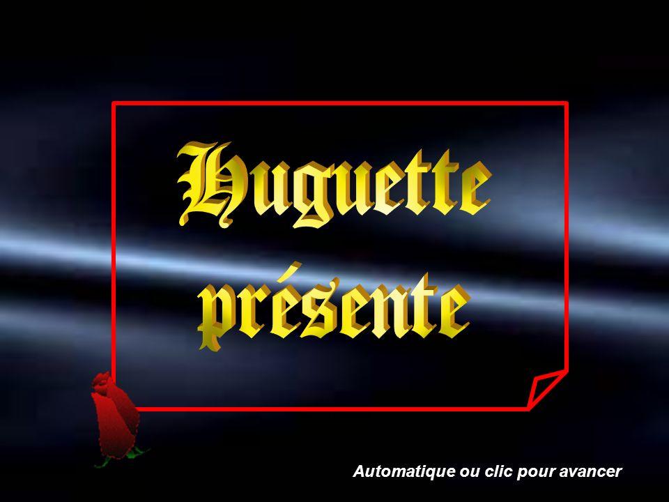 Huguette présente Automatique ou clic pour avancer