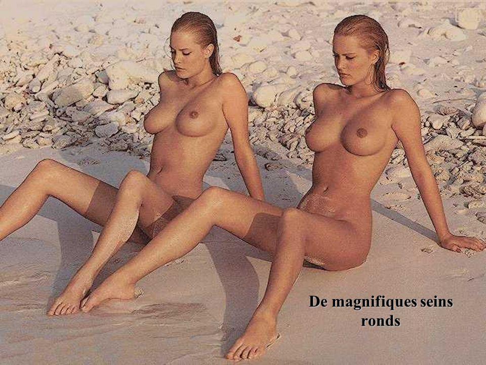 De magnifiques seins ronds