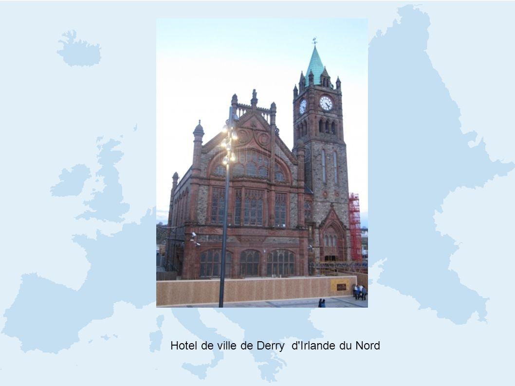 Hotel de ville de Derry d Irlande du Nord