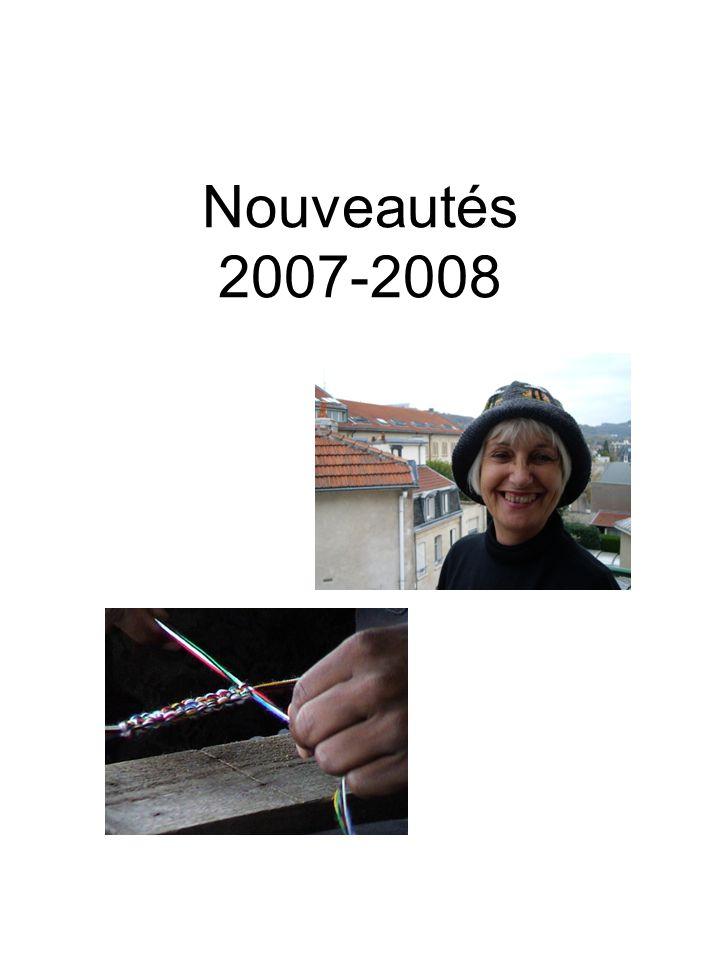 Nouveautés 2007-2008