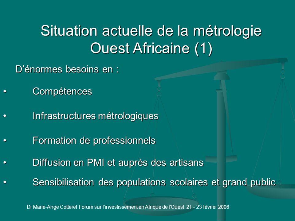 2 - La métrologie dans les entreprises 2.1 - Témoignages