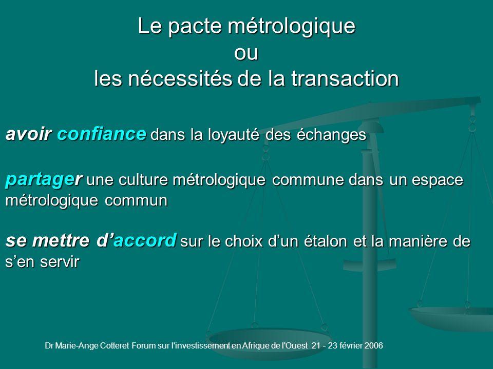 Plan Introduction 1 - La métrologie 1.1 - Types de métrologie