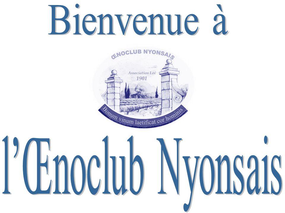 Bienvenue à l'Œnoclub Nyonsais