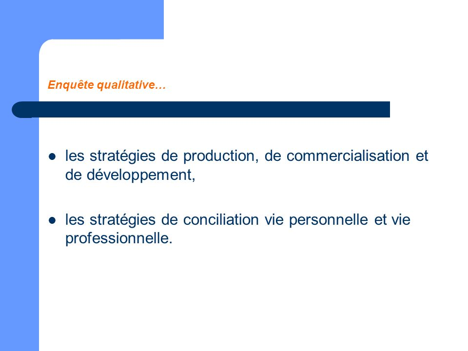 les stratégies de conciliation vie personnelle et vie professionnelle.