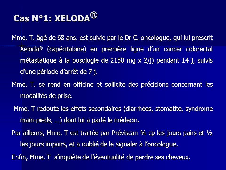 Cas N°1: XELODA®