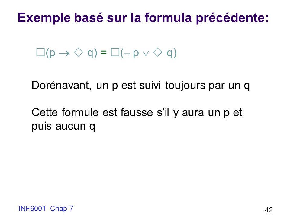 Exemple basé sur la formula précédente: