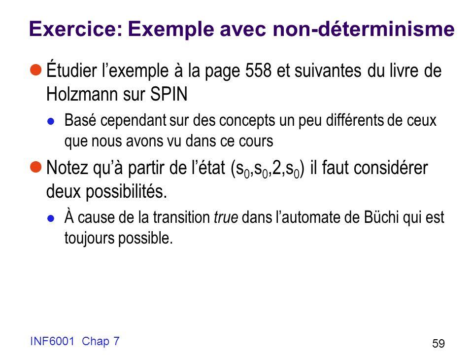 Exercice: Exemple avec non-déterminisme