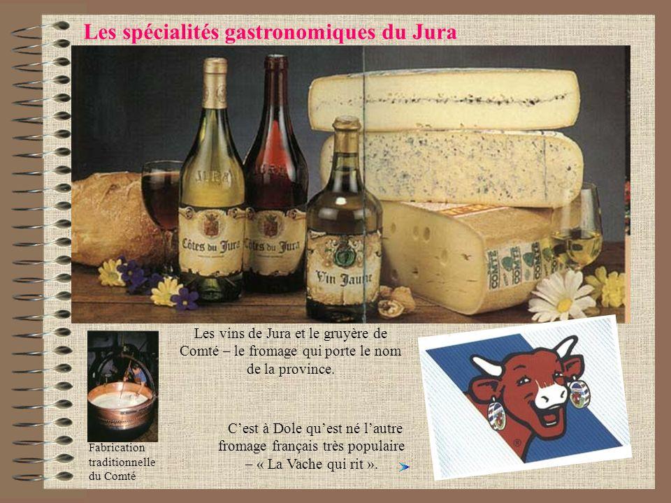 Les spécialités gastronomiques du Jura