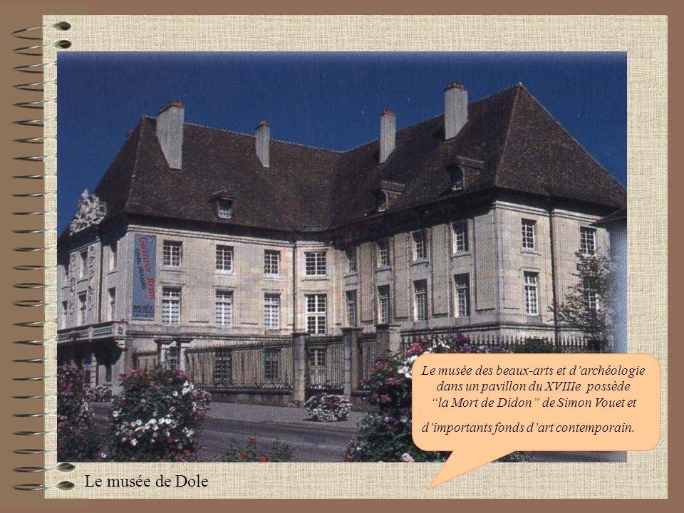 Le musée des beaux-arts et d'archéologie dans un pavillon du XVIIIe possède la Mort de Didon de Simon Vouet et d'importants fonds d'art contemporain.