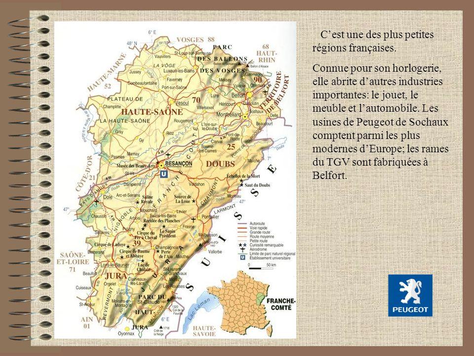 C'est une des plus petites régions françaises.