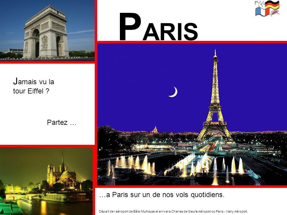 PARIS Jamais vu la tour Eiffel Partez …