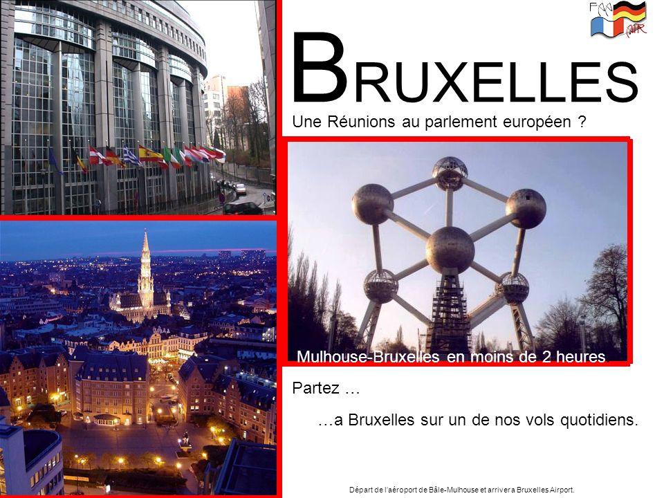 BRUXELLES Une Réunions au parlement européen