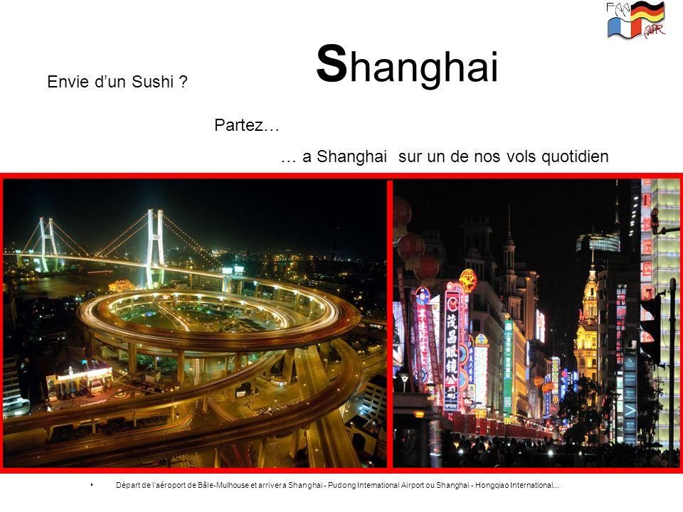Shanghai Envie d'un Sushi Partez…