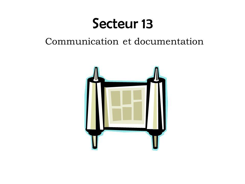 Communication et documentation