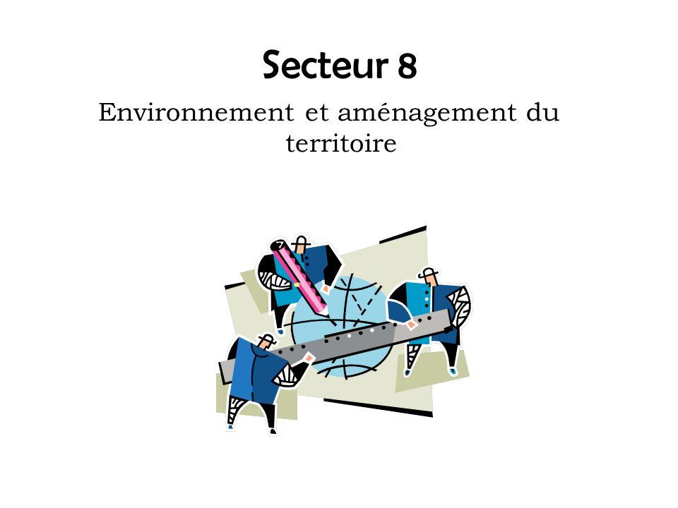 Environnement et aménagement du territoire