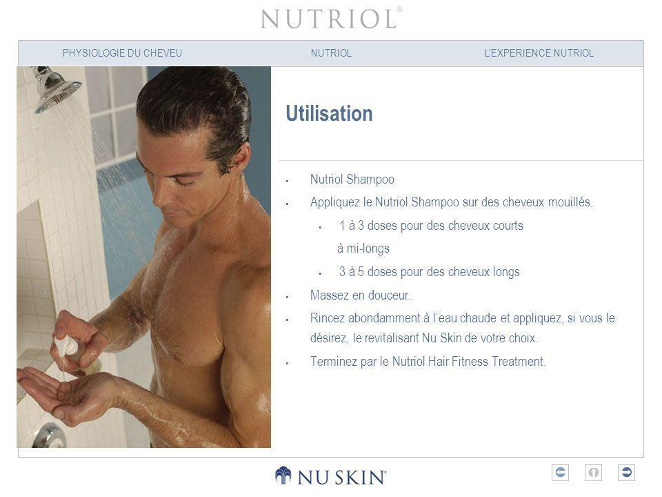Utilisation Nutriol Shampoo
