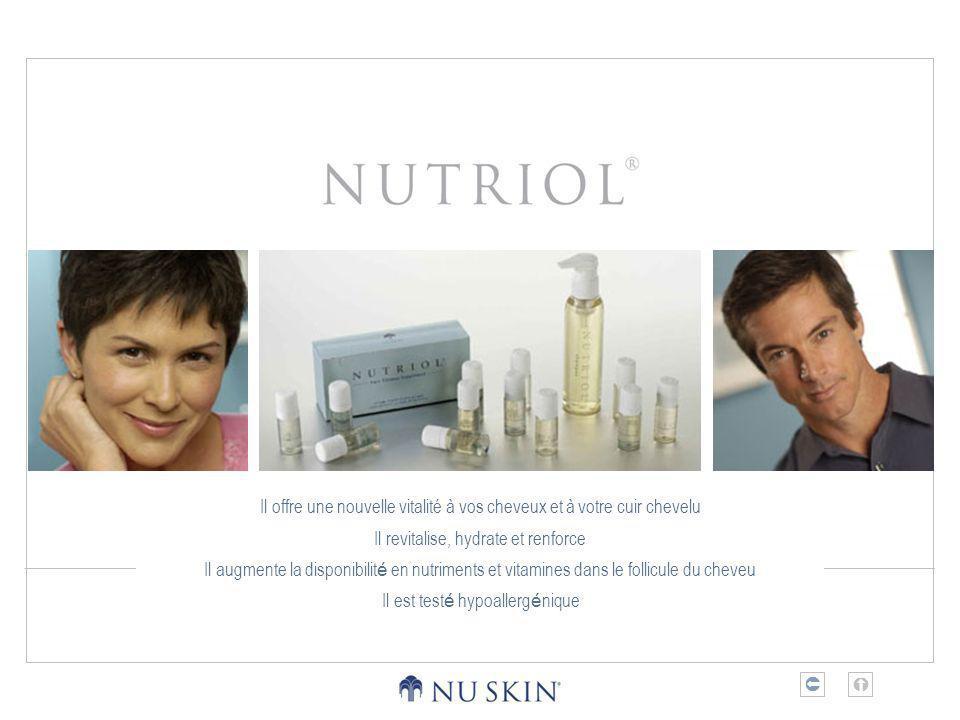 Il offre une nouvelle vitalité à vos cheveux et à votre cuir chevelu