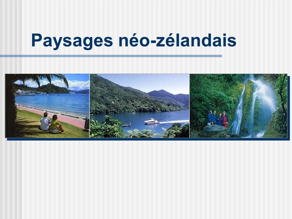 Paysages néo-zélandais