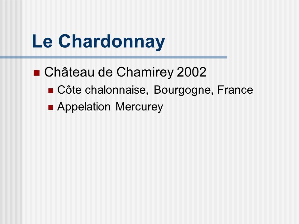 Le Chardonnay Château de Chamirey 2002