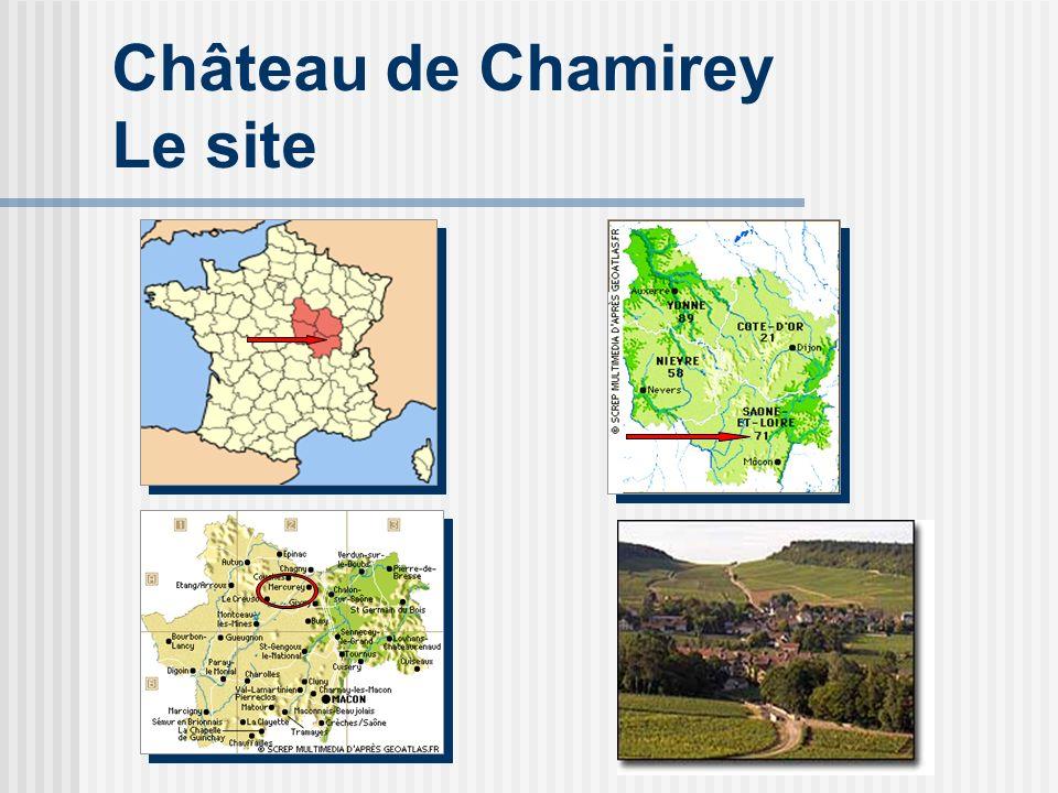 Château de Chamirey Le site