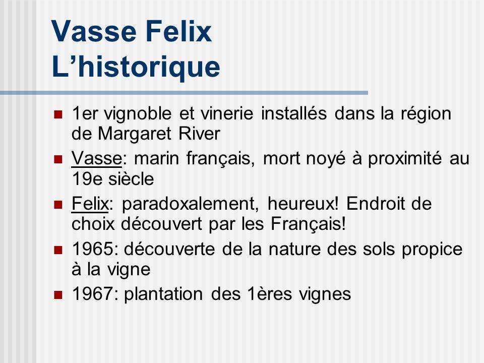 Vasse Felix L'historique