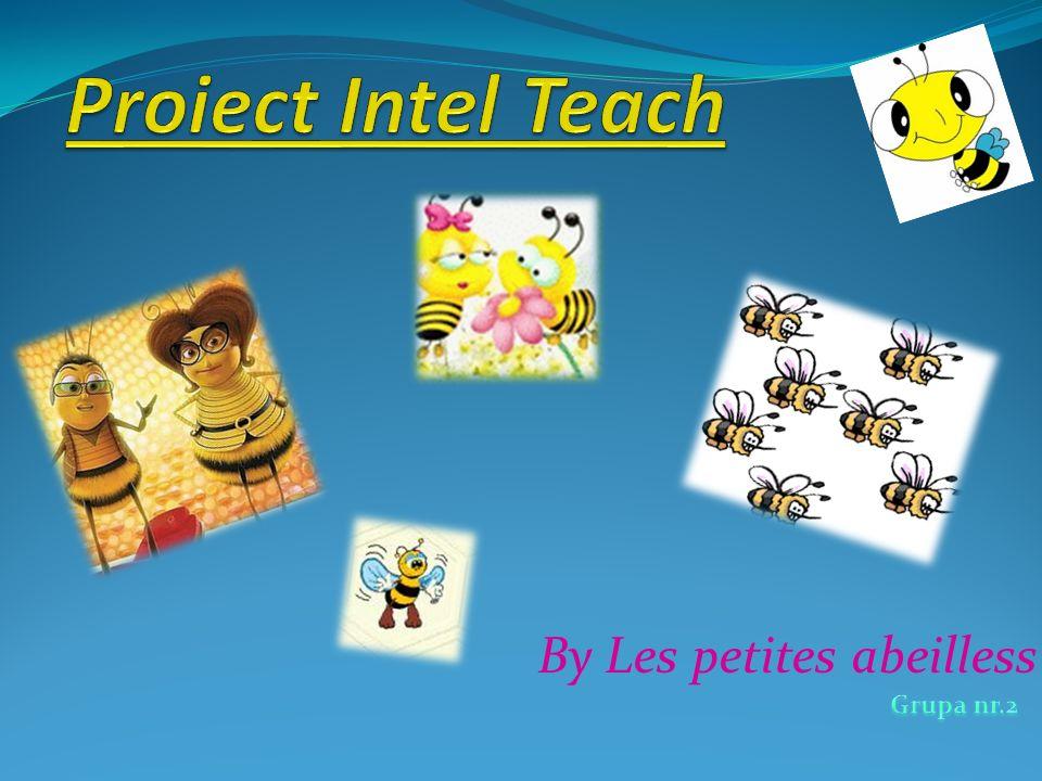 Proiect Intel Teach By Les petites abeilless Grupa nr.2