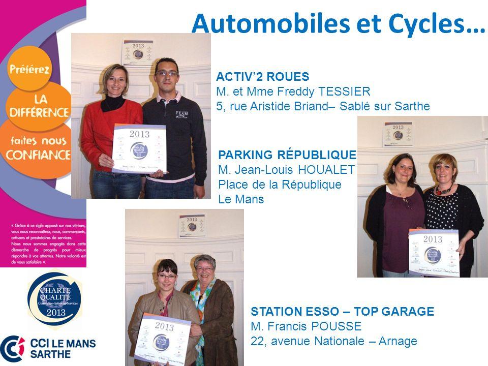 Automobiles et Cycles…