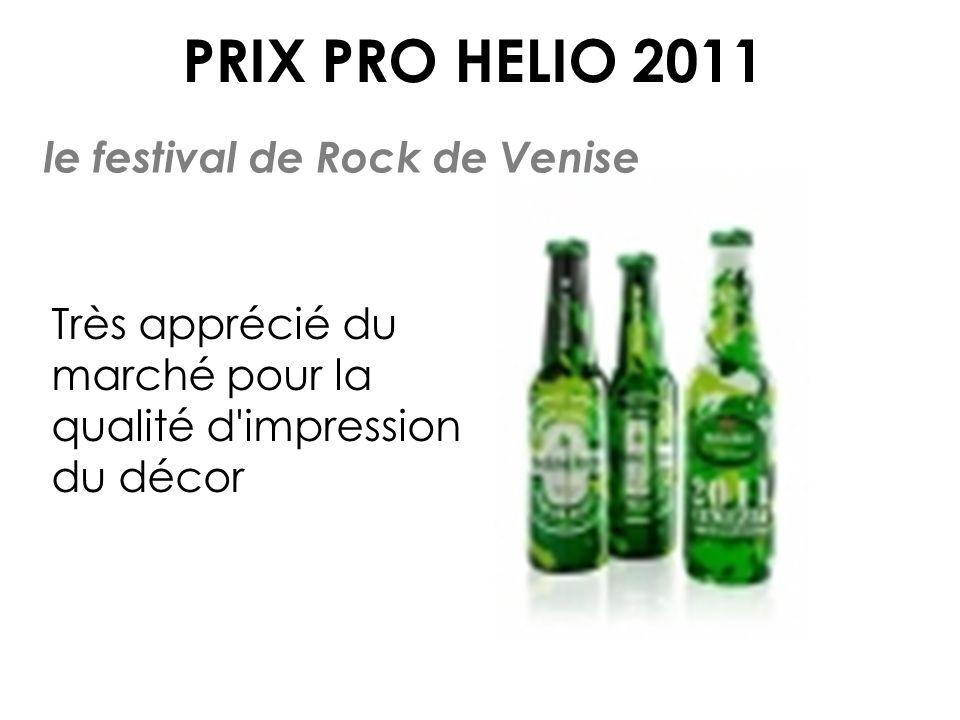 PRIX PRO HELIO 2011 le festival de Rock de Venise