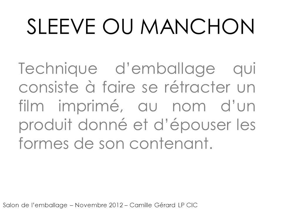SLEEVE OU MANCHON