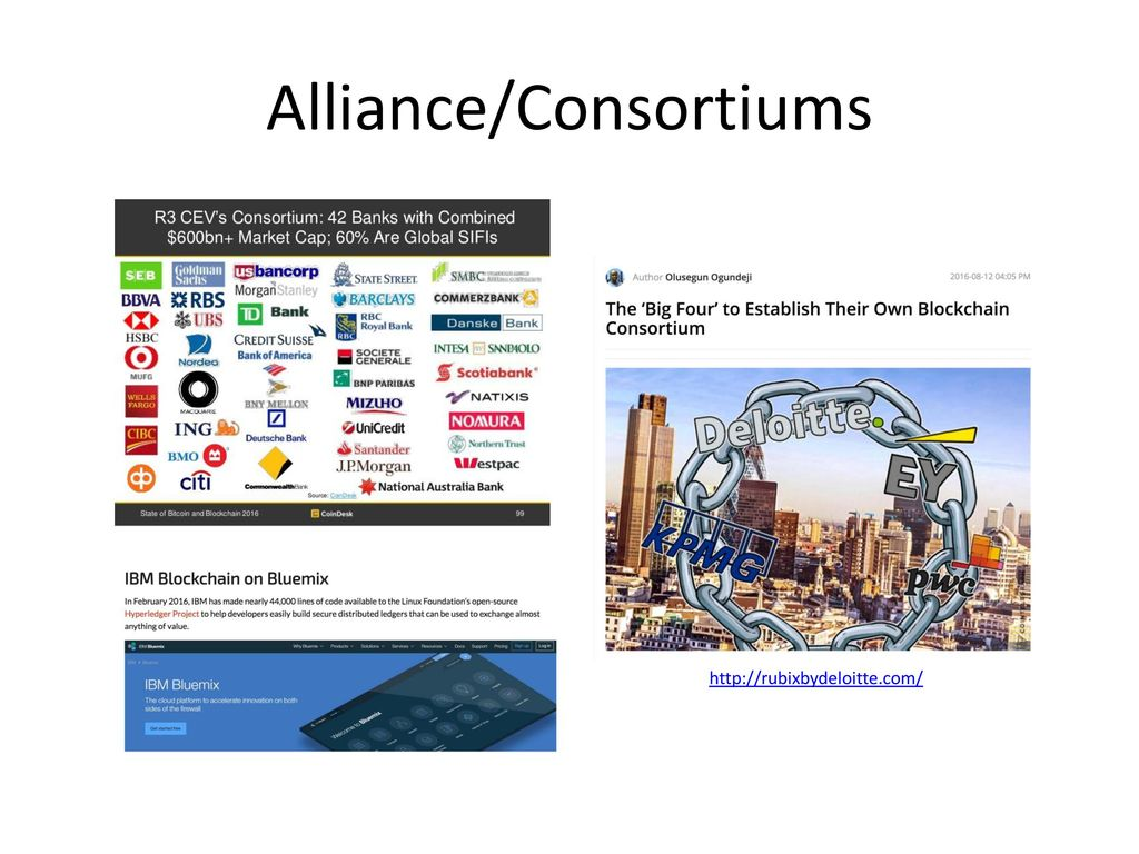 Alliance/Consortiums