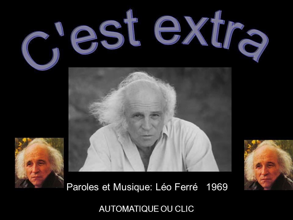 Paroles et Musique: Léo Ferré 1969