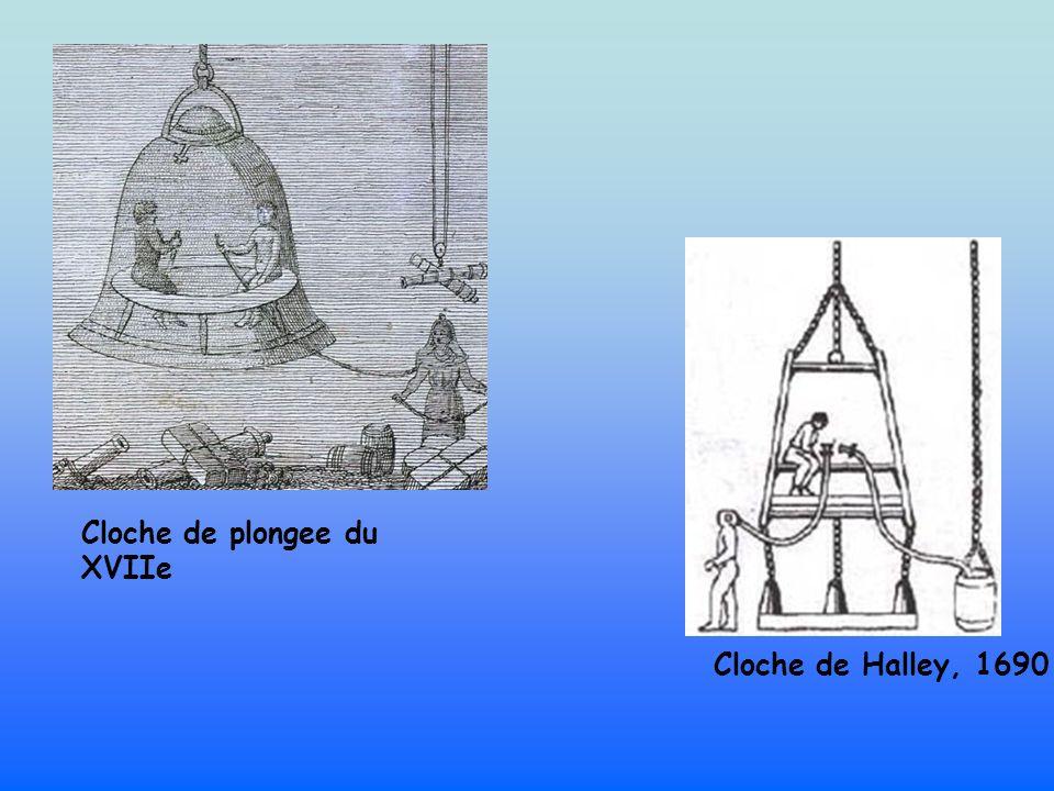 Cloche de plongee du XVIIe