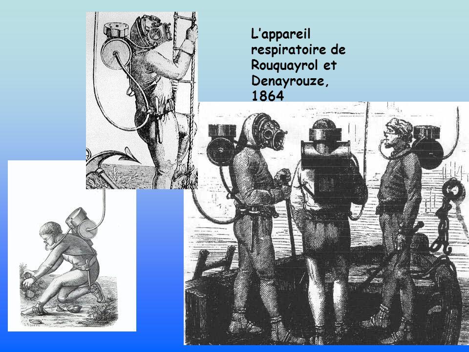 L'appareil respiratoire de Rouquayrol et Denayrouze, 1864