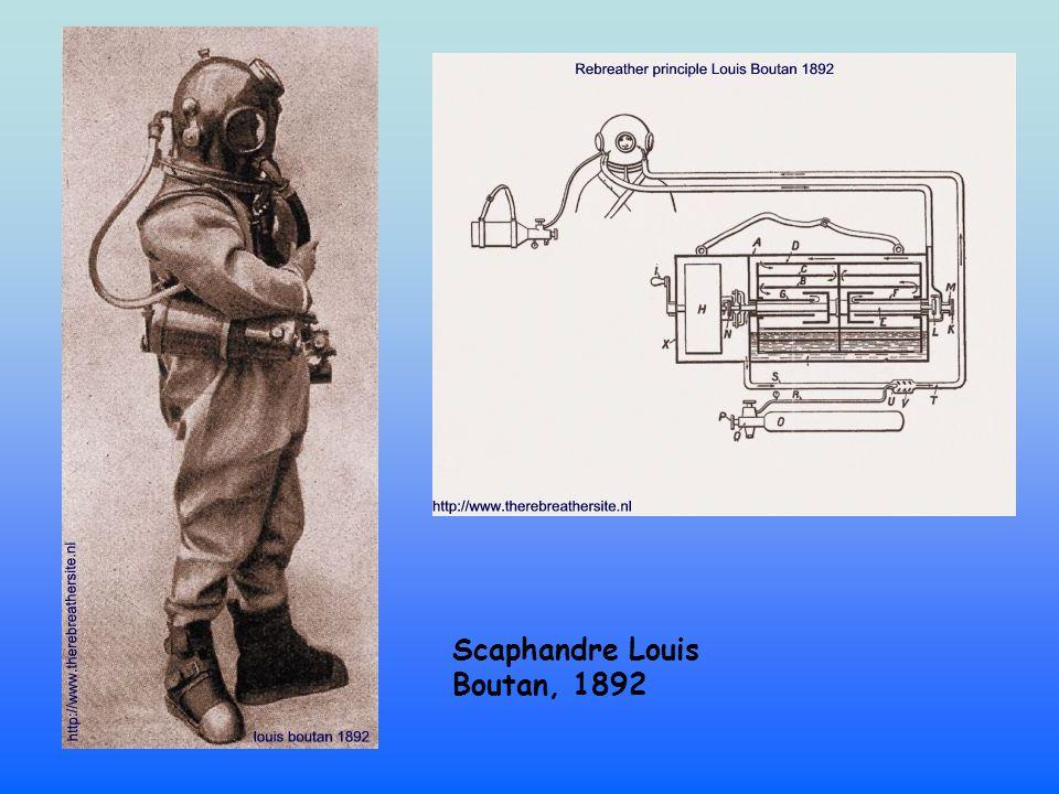 Scaphandre Louis Boutan, 1892
