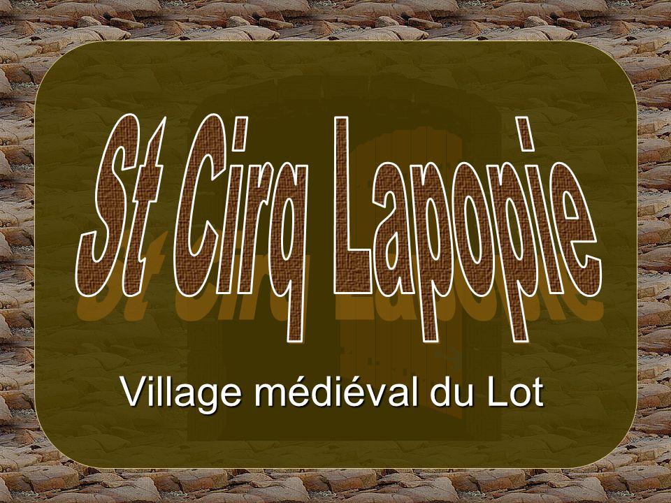 Village médiéval du Lot