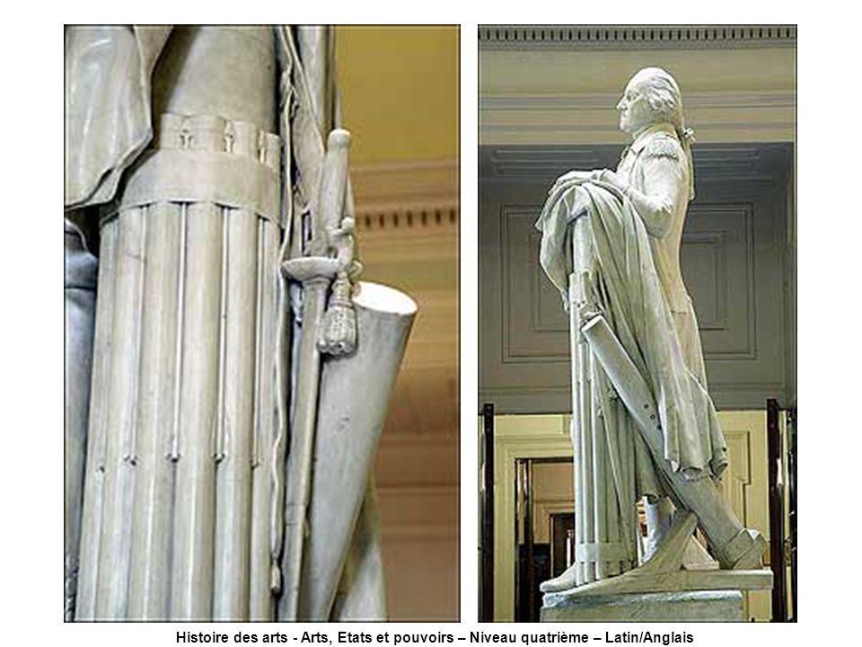 Histoire des arts - Arts, Etats et pouvoirs – Niveau quatrième – Latin/Anglais