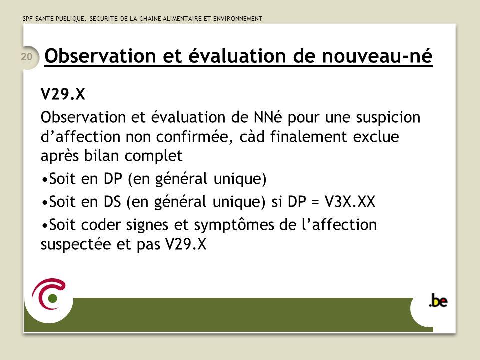Observation et évaluation de nouveau-né