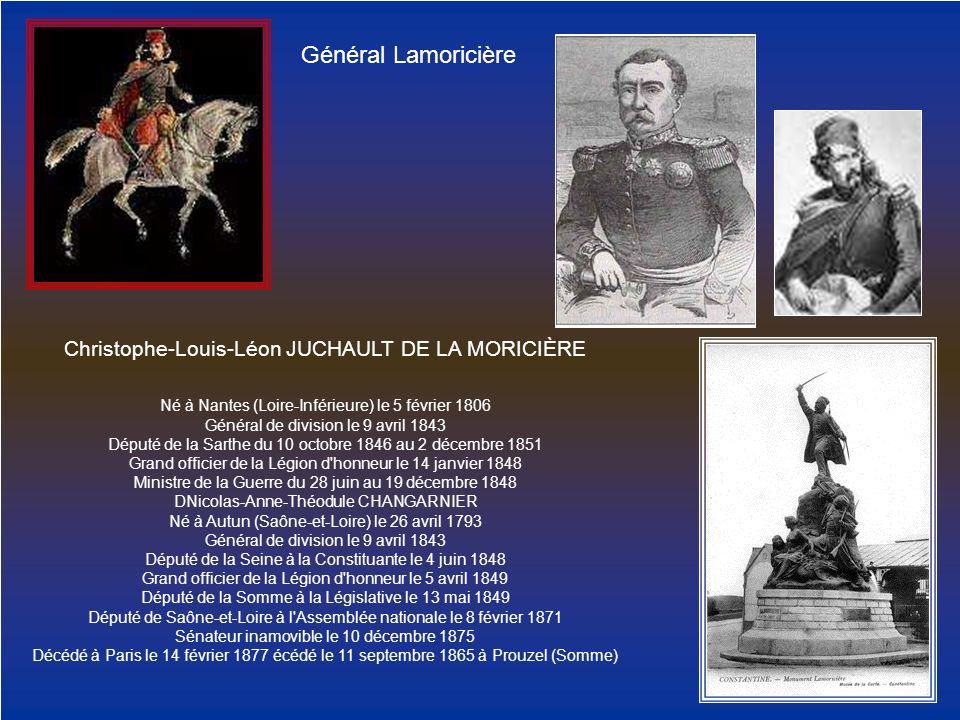 Christophe-Louis-Léon JUCHAULT DE LA MORICIÈRE