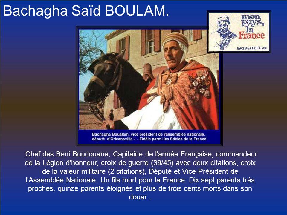 Bachagha Saïd BOULAM.