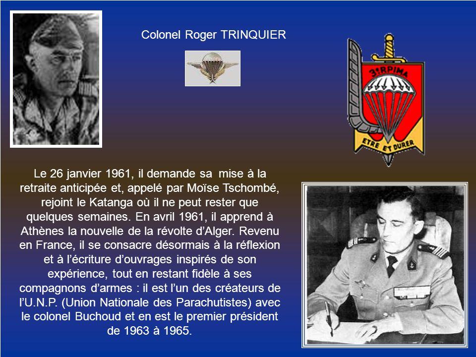 Colonel Roger TRINQUIER