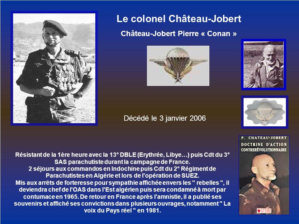 Le colonel Château-Jobert