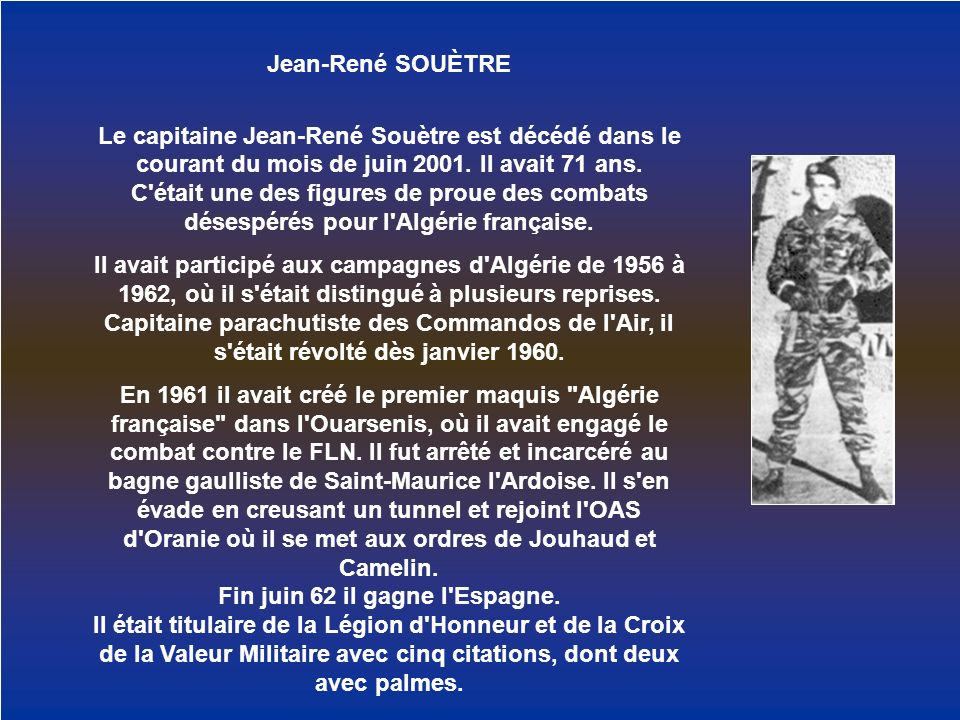 Jean-René SOUÈTRE