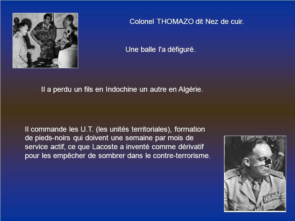 Colonel THOMAZO dit Nez de cuir.