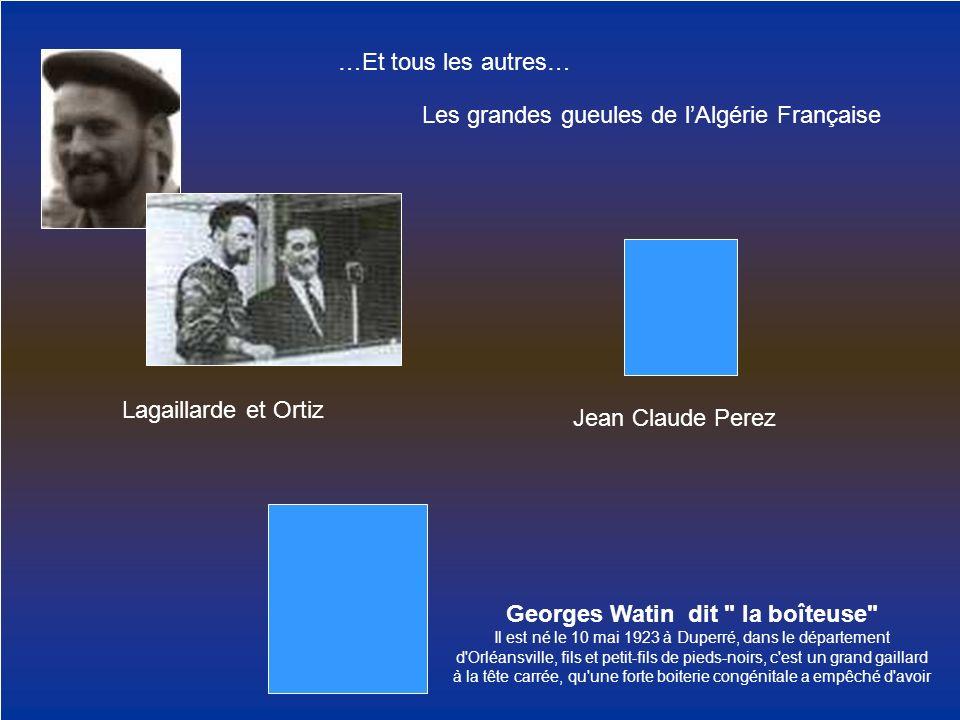 Georges Watin dit la boîteuse