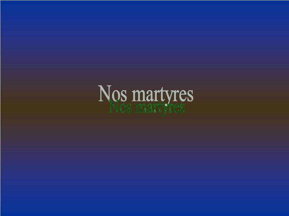 Nos martyres